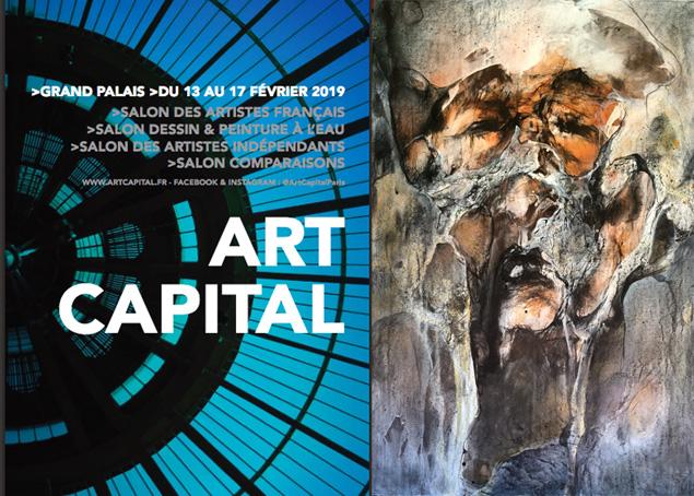 ART CAPITAL 2019              PARIS – GRAND PALAIS.                       DU 13 Février au 17 Février
