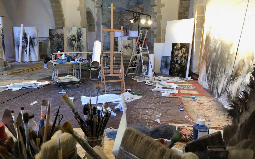 Résidence artistique                à Vébron (Lozère)
